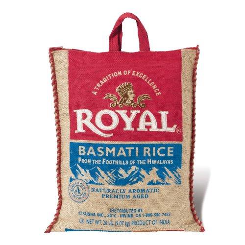 SCS RoyalBasmati Rice  20 Lbs by Royal