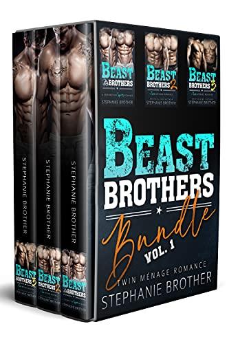 Beast Brothers Bundle Volume 1: A Twin Ménage Romance Box Set (English Edition)