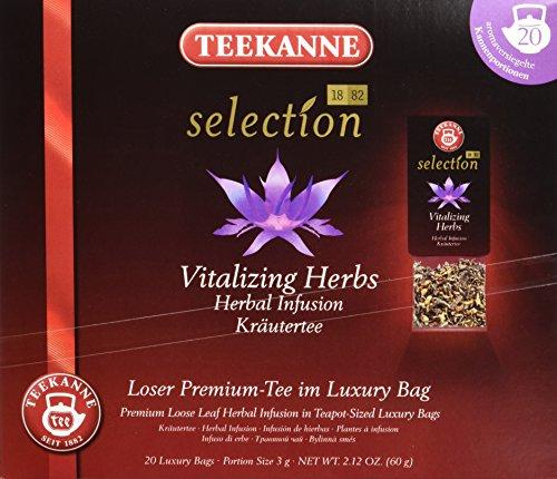 Teekanne Selection 1882 im Luxury Bag - Vitalkräuter - aromatisch-vitalisierend, 20 Portionen, 1er Pack (1 x 60 g)