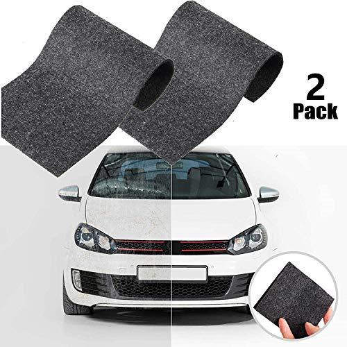 Car Scratch Remover für kleine Kratzer, Auto Kratzer Entferner, Auto-Kratzer-Reparatur, 2 Stück Nano Magic Tuch Autokratzer Cloth, Lackkratzer Entferner Auto