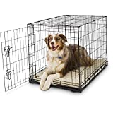 Petco Classic 1-Door Dog Crate, 36' L x 23' W x 25' H, Large, Black
