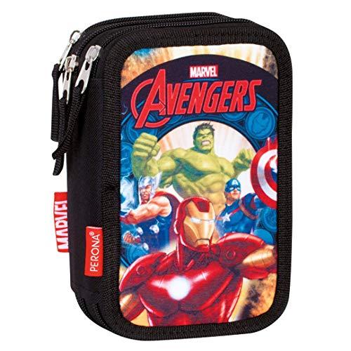 Montichelvo Avengers Thunder - Plumier de Triple Compartimen