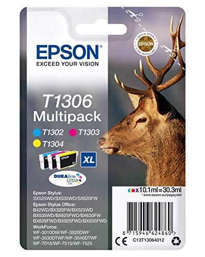 Epson T130640 Stylus SX525WD/SX620FW XL 3PACK Tintenpatrone
