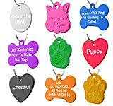 Dr. Fremont's Pet ID Tag Dog and Cat Personalized | Many Shapes and...