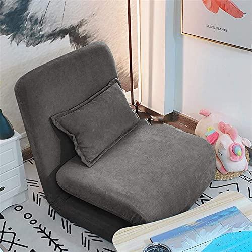 ZFFSC Sofá Perezoso WSZMD Lazy Sofa Tatami Cama Individual sentada y durmiendo Dormitorio del balcón en el Suelo pequeño Sofá reclinable Sofá Perezoso (Color : 4)