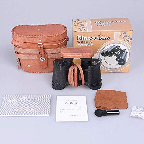 Review SRUI 8x30 Military Binoculars, Compact HD Daily Waterproof Binoculars Telescope for Adults Bi...