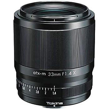 Tokina 単焦点広角レンズ atx-m 33mm F1.4 X フジフイルムXマウント APS-Cフォーマット 634653