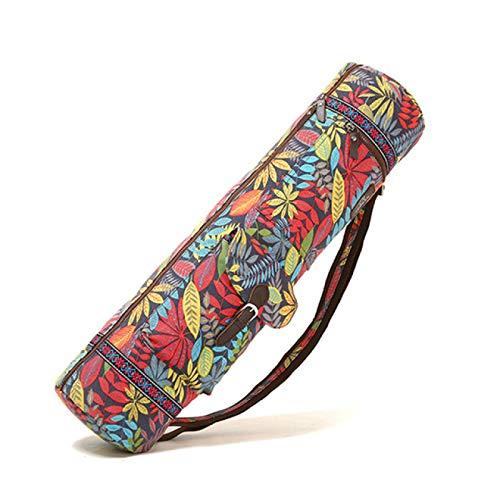 HUANGDANSEN Yoga Bagfitness Yoga Mat Bag Señoras Alfombra Colchón Bolsa de Gimnasio Bolsa de Mensajero de Hombro Bolsa de Entrenamiento Bolsa de Gimnasio