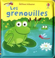 Livre bain bébé :  Les grenouilles