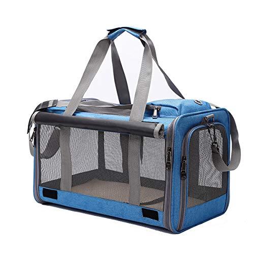 Yiwong Transportín Portátil y Plegable para Perros y Gato, Bolsa de Transporte...