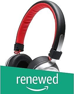 (Renewed) boAt Rockerz 640 Wireless On-Ear Headphone (Scarlet Silver)