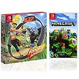 Nintendo RingFit Adventure and Minecraft Bundle Set