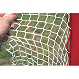 Goal Sporting Goods Set of 2 2.5 mm. Deluxe Ice & Inline Hockey Nets in White
