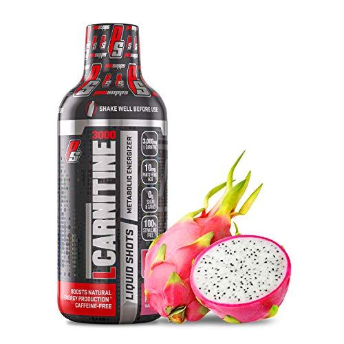 ProSupps® L-Carnitine 3000 Liquid Fat Burner, Stimulant Free Metabolic Enhancer, (31 Servings, Dragon Fruit)