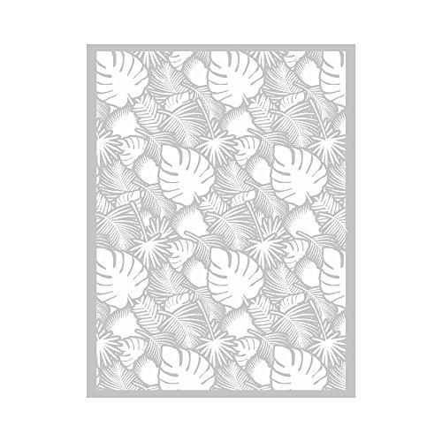 Silkscreen Siebdruck-Display – Monstera-Blätter, Palme