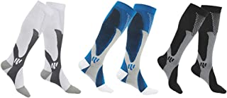 SherryDC Compression Socks for Women & Men, Best for Running, Athletic, Nursing, Pregnancy, Flight Travel, Crossfit