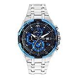 カシオ CASIO EDIFICE クオーツ メンズ 腕時計 EFR-539D-1A2V ブラック/ブルー [並行輸入品]