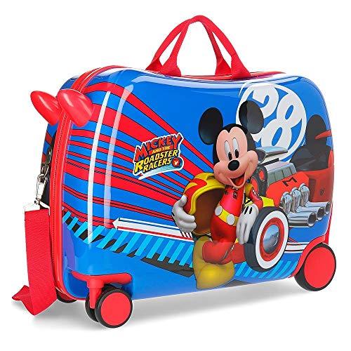 Maleta correpasillos ruedas multidireccionales World Mickey