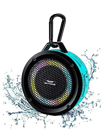 SKYWING Soundace S6 IPX7 Waterproof Shower Speaker 5W Bass+...