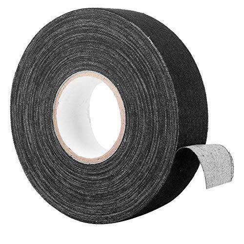Tennisschläger Griff, Badminton Griffband Elastizität Anti Rutsch Griffband für Badminton Stangen Pads Hockey Stick Bänder, 984 Zoll(Schwarz)