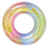 Yowablo Summer Beach Aufblasbare süße Form Schwimmring Pool River Beach Floating (90#,Mehrfarbig)