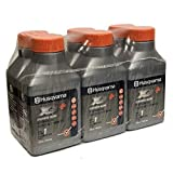 Husqvarna XP+ 2 Stroke Oil 2.6 oz. Bottle 6-Pack 593152301