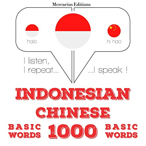 Indonesian – Chinese. 1000 basic words cover art