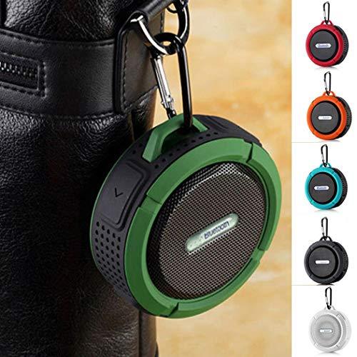 Altoparlante Portatile Bluetooth Impermeabile Antiurto Senza Fili con Gancio