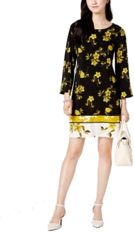 Alfani Petite MixedPrint Shift Dress