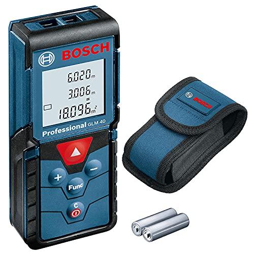 Medidor Laser De Distancia Funcion Calculadora Marca Bosch Professional