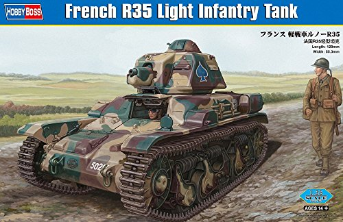 Hobbyboss 1:35 - French R35 Light Infantry Tank - HBB83806