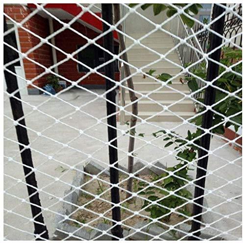Child Safety Net Protection Climbing Frames Cargo Net, Child Safety Net, Balcony Protection Net, Stair Anti-fall Net, Fence Net, Plant Climbing Net, Railway Net, Car Net, 3x5m ( Size : 2*2M(7*7ft) )