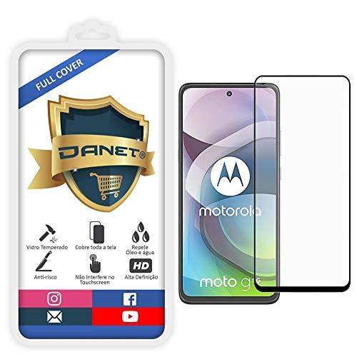 """Película De Vidro Temperado 3D Full Cover Para Motorola Moto G 5g com Tela de 6.7"""" Polegadas - Proteção Blindada Top Premium Que Cobre Toda A Tela - Danet"""