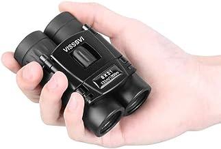 VISSSVI 8×21 Small Compact Lightweight Binoculars for Adults Kids Bird Watching..