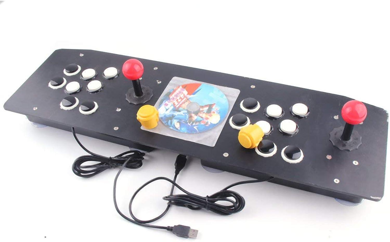 Ergonomisches Design Doppel Arcade Stick Videospiel Joystick Controller Gamepad für Windows PC Genießen Sie Spaß Spiel B07JH5DSWR | Attraktives Aussehen