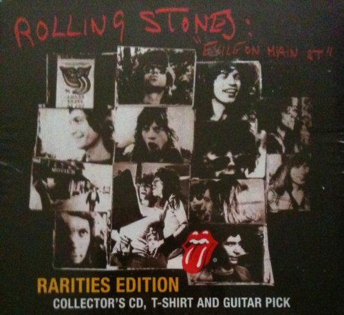 Exile On Main Street Rarities Edition Includes Collector's CD, T-shirt and Guitar...