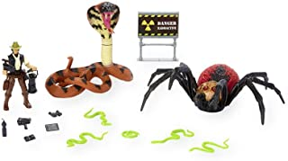 Animal Planet Giant Spider and Cobra Playset