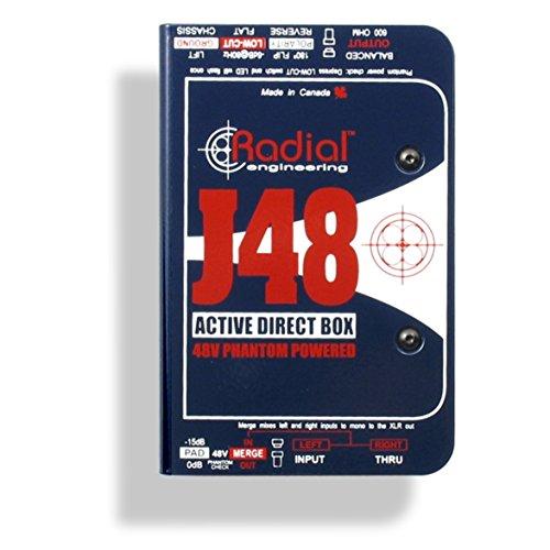 Radial J48 MK2 48V...