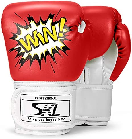 FP Kids Boxing Gloves Junior Punching Bag Mitts Muay thai Training Sparring