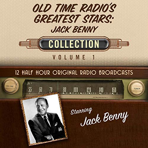 Couverture de Old Time Radio's Greatest Stars: Jack Benny Collection 1