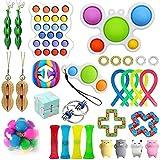 Fidget Toys Set-Juguetes para aliviar el estrés y aliviar la ansiedad para regalos de fiesta de cumpleaños, recompensas para el aula de la escuela, premios de carnaval, rellenos de bolsas de regalos
