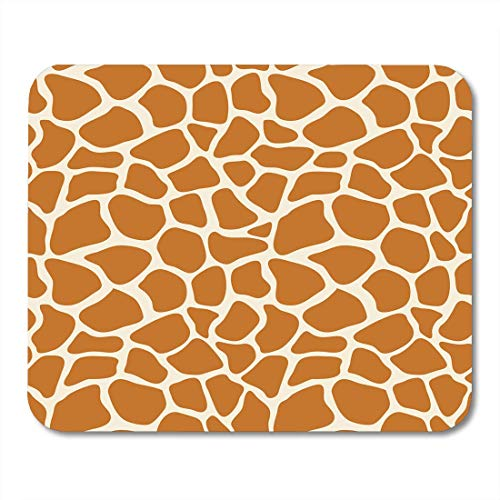 AOHOT Mauspads Brown Pattern Giraffe Skin Animal Safari Abstract Africa African Mouse pad 9.5