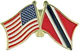 Trinidad Flagge Patch & Pin Trinidad / USA Pin