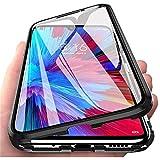 Handyhülle für Oppo Find X3 / Find X3 Pro Hülle Magnetic Adsorption,Schutzhülle 360 Grad Komplett Schutz Hülle 2 in 1 Metall Bumper mit Gehärtetes Glas Ultra Dünn Transparent Hülle Cover