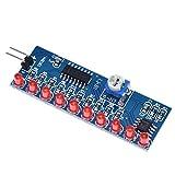 Gaodpz NE555 NE555 CD4017 Controlador de accionamiento hidráulico Placa de Circuito de Agua Que Fluye de luz LED Módulo electrónico DIY Kit Running Light Drive