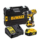DeWalt DCD796P2-QW 18V - XR LI-ION - Taladro Percutor sin escobillas XR 18V 13mm 70Nm Li-Ion 5,0Ah...