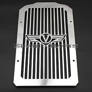 Radiator Cover Shrouds Bezel Grille Guard For Kawasaki Vulcan 900 VN900 2006-2014 Chrome