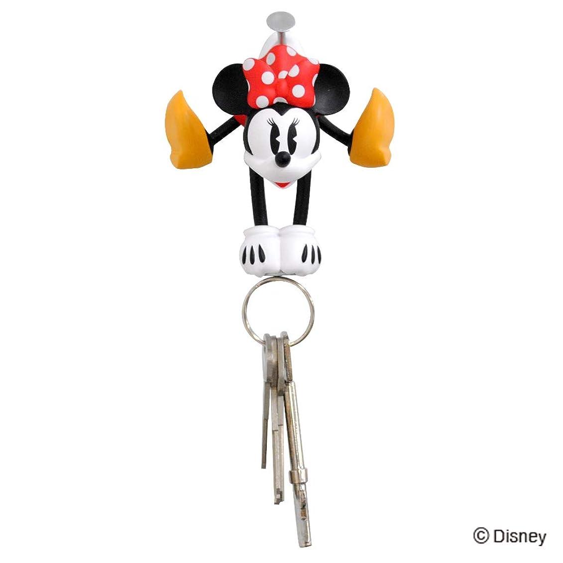 バケット花嫁直径Disney(ディズニー) マグネットキーハンガー ミニーマウス 14222