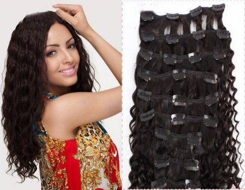 Clip in human hair extensions brazilian virgin hair weave bundles if you want to buy clip in human hair extensions brazilian virgin hair weave bundles curly hair weft natural color good quality at reasonable price in the pmusecretfo Gallery