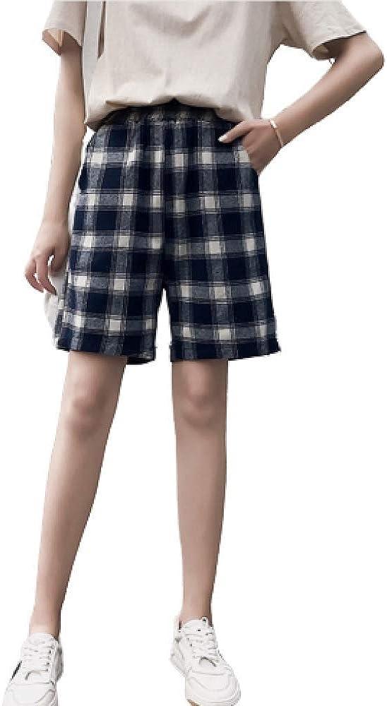 Ladies Summer High Waist Casual Pants Summer Classic Version Loose Fashion